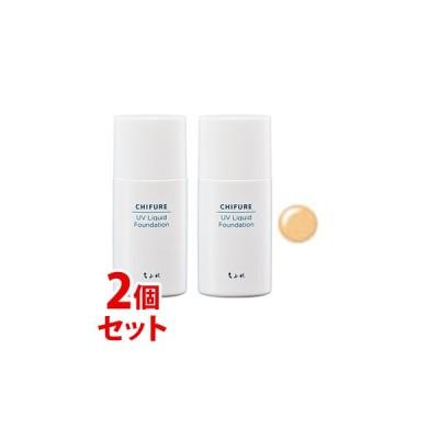 《セット販売》 ちふれ化粧品 UV リキッド ファンデーション 33 オークル系 SPF35 PA+++ (30mL)×2個セット CHIFURE