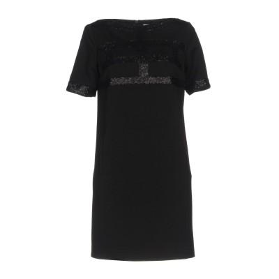 ブルマリン BLUMARINE ミニワンピース&ドレス ブラック 46 ポリエステル 94% / ポリウレタン 6% ミニワンピース&ドレス