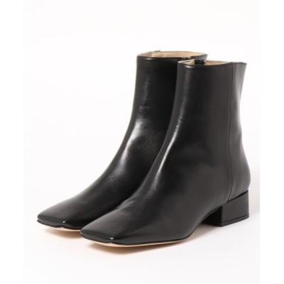 FABIO RUSCONI / FABIO RUSCONI(ファビオ ルスコーニ)/スクエアトゥ ローヒール ショートブーツ WOMEN シューズ > ブーツ