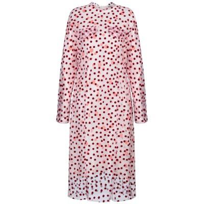 ケンゾー KENZO 7分丈ワンピース・ドレス ピンク 36 ナイロン 100% / リネン 7分丈ワンピース・ドレス