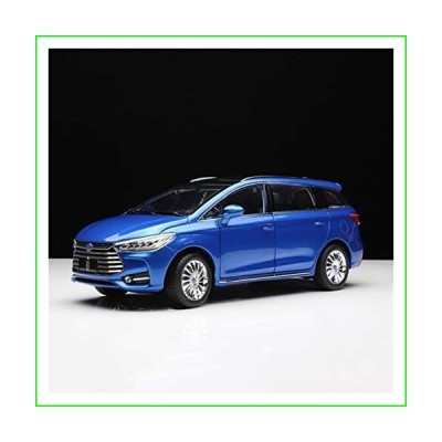Die-Cast Vehicles 1:18 for BYD MPV Alloy Diecast Car Model Collection Decoration Souvenir Ornaments Display Vehicle Toy Gift【並行輸入
