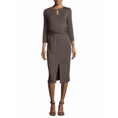 ラファイエット148ニューヨーク レディース ワンピース Wrap Front Wool Dress