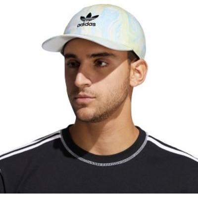 アディダス メンズ 帽子 アクセサリー adidas Men's Relaxed Marble Wash Hat Ambient Sky