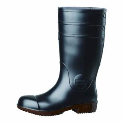 【最大1000円OFFクーポン利用可能】ミドリ安全 NHG1000SP-BK-23.5 超耐滑先芯入り長靴 ハイグリップ NHG1000スーパー ブラック