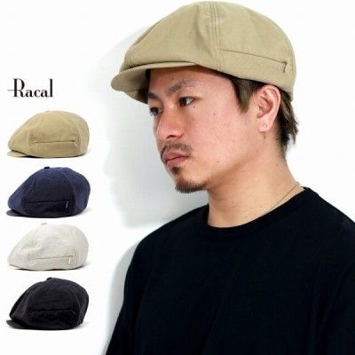 キャスケット メンズ ラカル タスランナイロン 春夏 キャスケット帽 レディース 6パネル racal ハット メンズ キャスケット 帽子 メンズ 日本製 ポケット付き