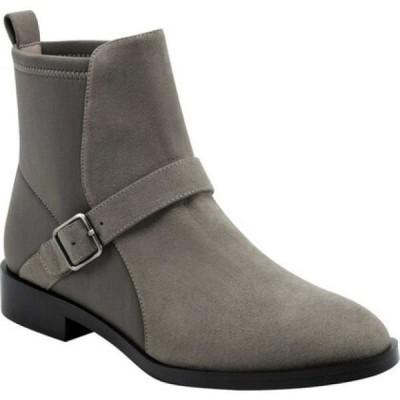エアロソールズ Aerosoles レディース ブーツ ショートブーツ シューズ・靴 Beata Ankle Boot Grey Faux Nubuck/Neoprene Fabric