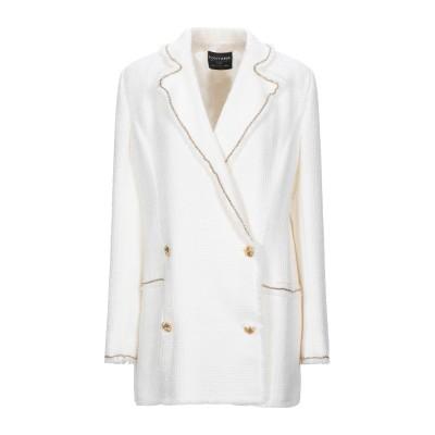 FONTANA COUTURE テーラードジャケット ホワイト 44 ウール 95% / ナイロン 5% テーラードジャケット