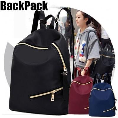 リュックサック レディース ブラック リュック スクールバッグ デイパック 学生鞄 ポリキャンバス かばん 軽量 通勤 通学 学生 おしゃれ かわいい 大容量 旅行