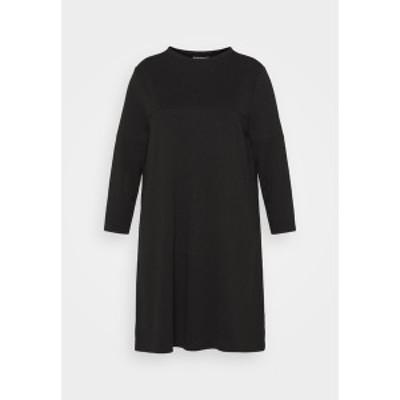 オンリー カルマコマ レディース ワンピース トップス CARVIOL DRESS - Jersey dress - black black