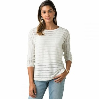 プラーナ Prana レディース ニット・セーター トップス Madeline Sweater Soft White