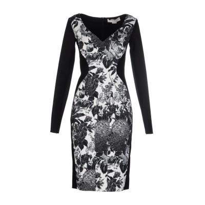 ステラ マッカートニー STELLA McCARTNEY ミニワンピース&ドレス ブラック 36 レーヨン 100% ミニワンピース&ドレス