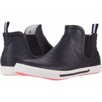 Joules レディース 女性用 シューズ 靴 ブーツ レインブーツ Rainwell Black Croc【送料無料】