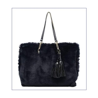 【新品】Girly Handbags Oversized Top Handle Bag Dark Blue(並行輸入品)
