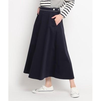 Dessin(Ladies)(デッサン(レディース)) 【S~L】コットンサテンロングスカート