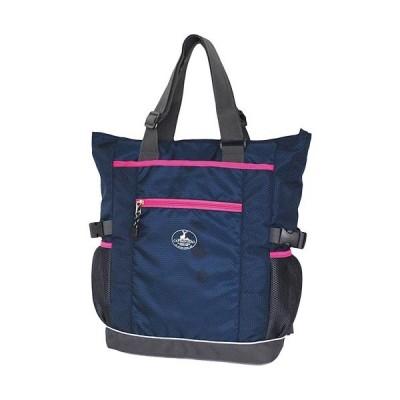 キャプテンスタッグ(CAPTAIN STAG) ハニカム2WAYトートバック ネイビー 01218 通勤通学 鞄 カジュアル バッグ