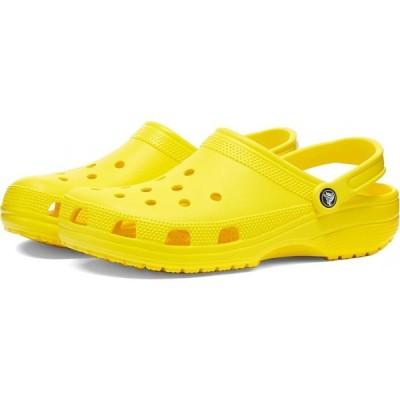 クロックス Crocs メンズ クロッグ シューズ・靴 classic croc Lemon