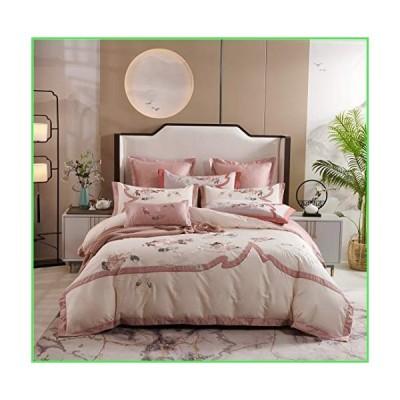 【全国送料無料】Duvet Cover, Double Bed Sheet, Embroidery Pattern, Cotton Bedding, 6-Piece Quilt Cover, 200 230cm Bedding, 100% Quil