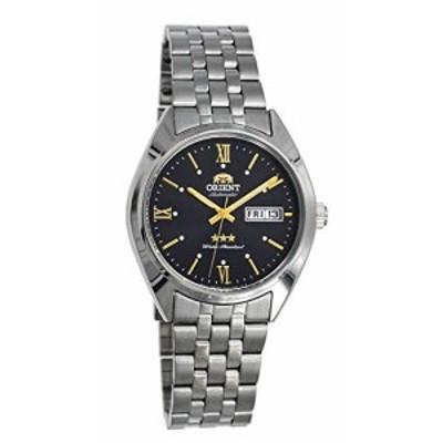 Orient RA-AB0E14N メンズ 3スター ステンレススチール スモークダイヤル 曜日日付 自動腕時計