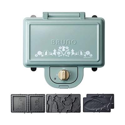 BRUNO-ホットサンドメーカー-おさかなプレート-2種プレートセット-ムーミン