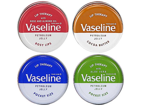 Vaseline 凡士林~護唇膏(圓罐)4款可選【D150117】