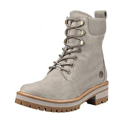 "Timberland Women's Courmayeur Valley 6"" Boot Fashion, Light Taupe Nubuck, 090 M US【並行輸入品】"