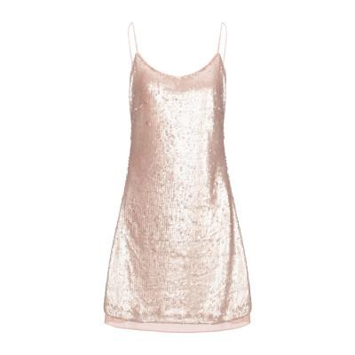 FRACOMINA ミニワンピース&ドレス ローズピンク S ポリエチレン 100% ミニワンピース&ドレス