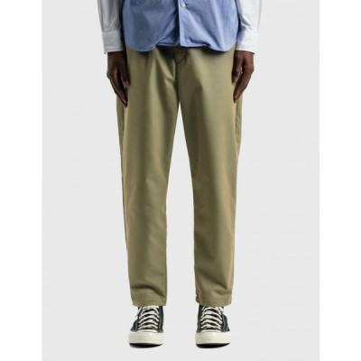 ソフネット SOPHNET. メンズ ボトムス・パンツ ワイドパンツ テーパードパンツ baggy wide tapered easy pants Khaki