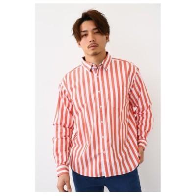 シャツ ブラウス バックプリントシャツ