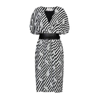 セリーヌ CELINE 7分丈ワンピース・ドレス ホワイト 34 レーヨン 100% / シルク 7分丈ワンピース・ドレス