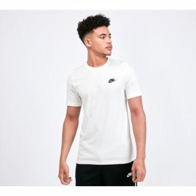 ナイキ Nike メンズ Tシャツ トップス club t-shirt Sail/Black