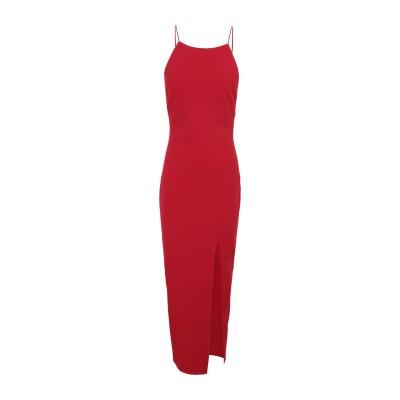 BEC & BRIDGE ロングワンピース&ドレス レッド 6 ポリエステル 95% / ポリウレタン 5% ロングワンピース&ドレス