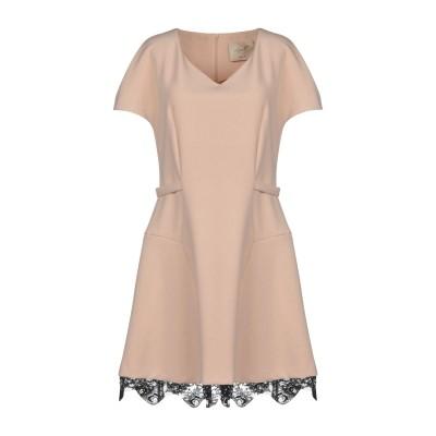 LUCILLE ミニワンピース&ドレス サンド 44 ポリエステル 67% / レーヨン 30% / ポリウレタン 3% ミニワンピース&ドレス