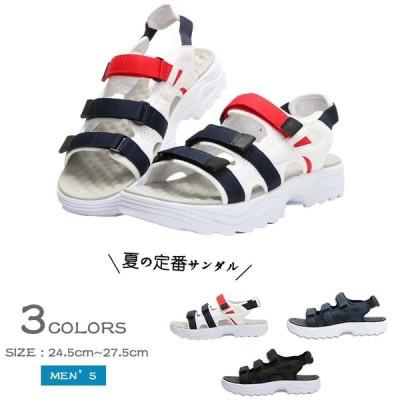 サンダルメンズ コンフォート厚底 メンズ サンダル  ビーチサンダル 靴   ウォーキング:スポーツシューズNX