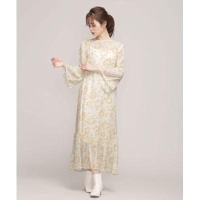 RAYON FLOWER DRESS