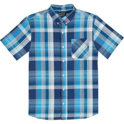 ユナイテッドバイブルー シャツ メンズ トップス United By Blue Men's Kintyre Plaid Shirt Blue
