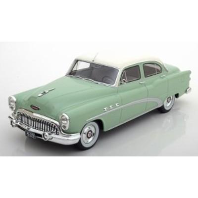 BOS 1:18 1953年モデル ビュイック スペシャル 4ドア ツアーバック セダン ライムカラー