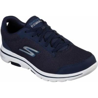 スケッチャーズ メンズ スニーカー シューズ Men's Skechers GOwalk 5 Sneaker Navy/Blue
