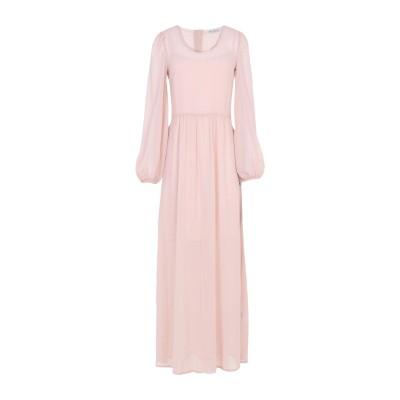 RUE•8ISQUIT ロングワンピース&ドレス ピンク 38 ポリエステル 100% ロングワンピース&ドレス