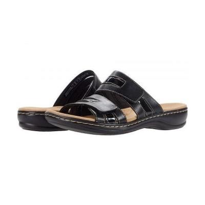 Clarks クラークス レディース 女性用 シューズ 靴 サンダル Leisa Zoe - Black Leather/Synthetic Combination