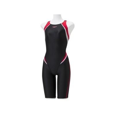 スピード speedo レディース フレックスシグマ2 セミオープンバックニースキン 水泳 スイム 競泳 水着 オールインワン