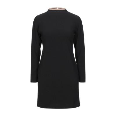 メルシー ..,MERCI ミニワンピース&ドレス ブラック 38 ポリエステル 95% / ポリウレタン 5% ミニワンピース&ドレス