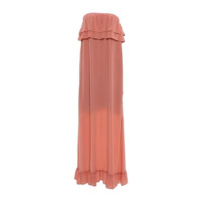 セミクチュール SEMICOUTURE ロングワンピース&ドレス ローズピンク 40 シルク 100% ロングワンピース&ドレス