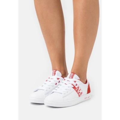 ナパピリ スニーカー レディース シューズ WILLOW - Trainers - white/red/multicolor