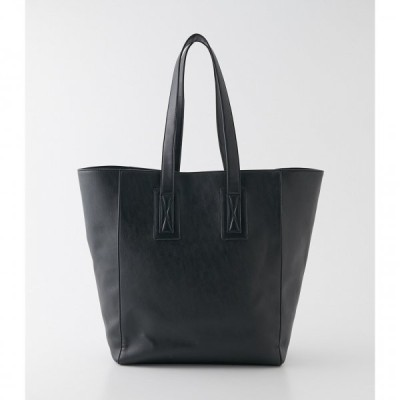ECO LEATHER BIG TOTE BAG/エコレザービッグトートバッグ /メンズ/バッグ バッグ
