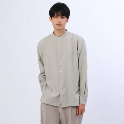ティーケー タケオ キクチ tk.TAKEO KIKUCHI 【S~3L】TRバンドカラーシャツ (ナチュラル)