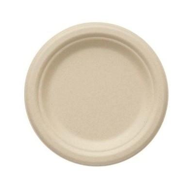 【20枚】エコバンブープレート BPF-17 シモジマ 使い捨て 弁当 皿 ランチ プレート イベント 容器 (本体のみ)20枚入