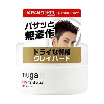 柳屋本店 MUGA クレイハード ワックス 85g 1個