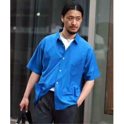 メンズ ジャーナルスタンダード 【Karl Mayer 】ボックスシャツ ブルー S