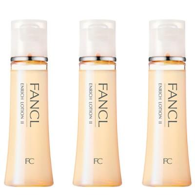 ファンケル エンリッチ 化粧液しっとり 3本 化粧水