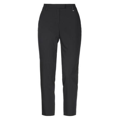 VERSACE JEANS COUTURE パンツ ブラック 44 ポリエステル 75% / レーヨン 20% / ポリウレタン 5% パンツ